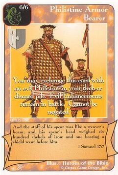 Philistine Armor Bearer (FF) - Faith of Fathers