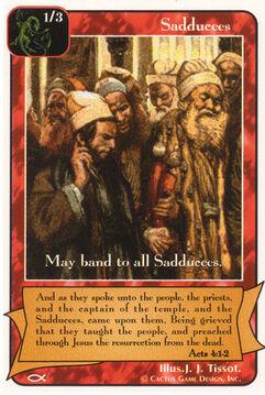 Sadducees (Itch) - Apostles