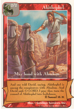 Ahithophel - Warriors