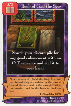 Book of Gad the Seer - F Deck