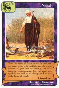 Nabal - Patriarchs