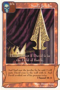 Saul's Javelin - Warriors
