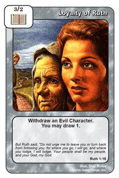Loyalty of Ruth (J)