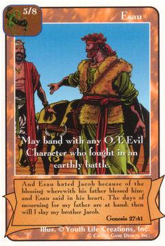 Esau - Patriarchs
