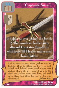 Captain's Sword - Kings