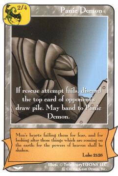 Panic Demon (Gold) - Angel Wars
