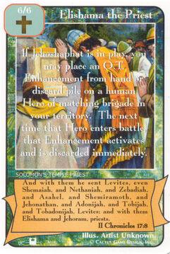 Elishama the Priest (Pi) - Priests
