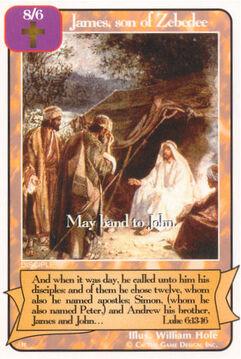 James, son of Zebedee - H Deck