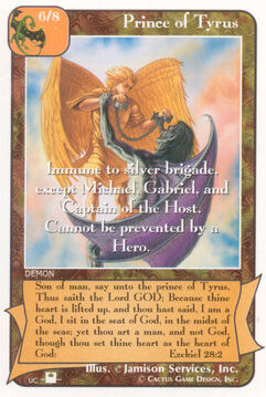 Prince of Tyrus (Pi) - Priests