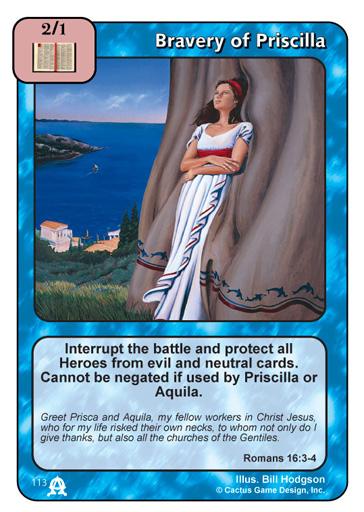 Bravery of Priscilla (TEC)