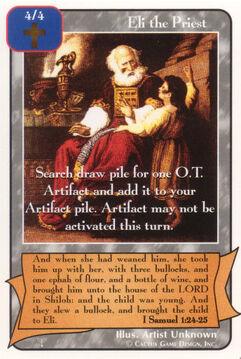 Eli the Priest - Patriarchs