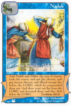 Nadab (Pi) - Priests