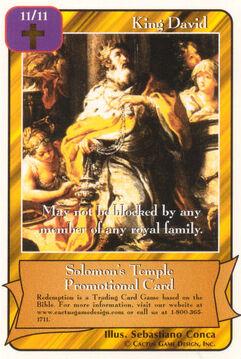 King David - Promotional
