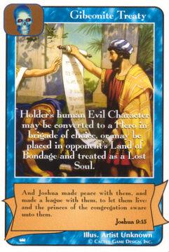 Gibeonite Treaty - Kings