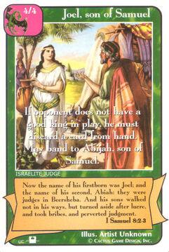 Joel, son of Samuel (Pi) - Priests