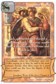 Emperor Galba (FF) - Faith of Fathers