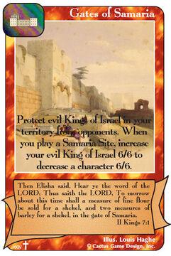 Gates of Samaria (RA2)