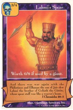 Lahmi's Spear - Warriors