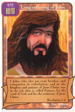 Long-suffering of John - Unlimited