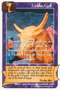 Golden Calf - H Deck