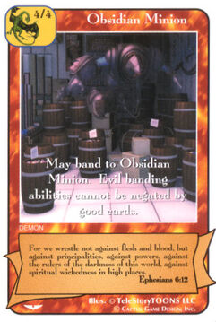 Obsidian Minion (Gold) 3 - Angel Wars