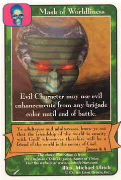 Mask of Worldliness - Warriors