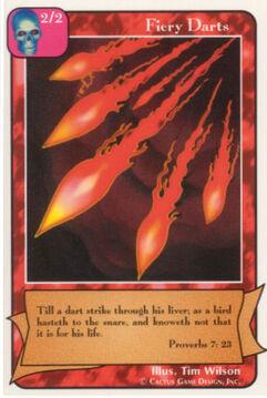 Fiery Darts - Unlimited