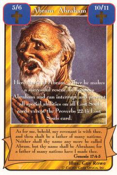 Abram Abraham - Patriarchs