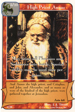 High Priest Annas - Apostles