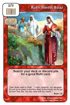 Ruth Meets Boaz (J)