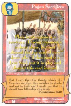 Pagan Sacrifices (Pi) - Priests