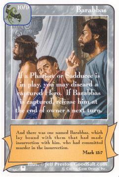 Barabbas (Pi) - Priests