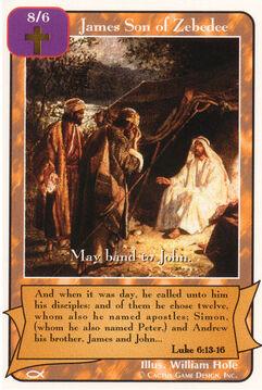 James, Son of Zebedee (Ap)