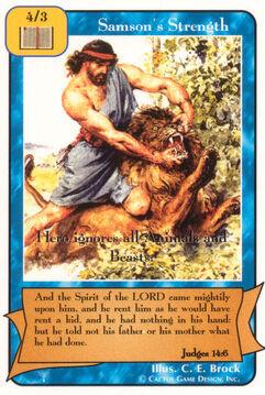 Samson's Strength - Patriarchs