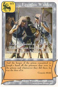 Egyptian Warden (FF) - Faith of Fathers