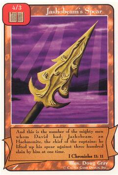 Jashobeam's Spear - Warriors