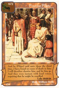 Pontius Pilate - Apostles