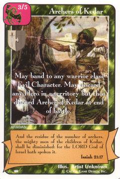 Archers of Kedar - Kings