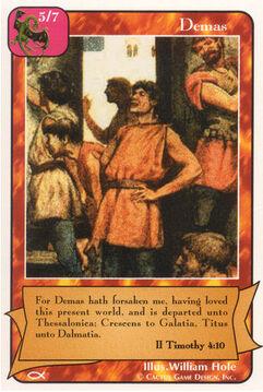 Demas - Apostles