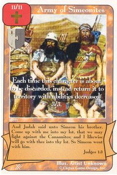 Army of Simeonites (FF) - Faith of Fathers