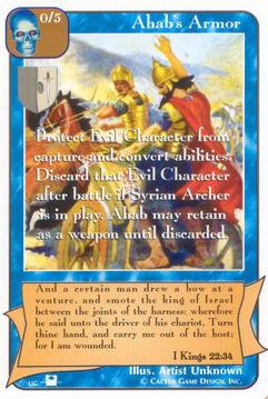 Ahab's Armor (Pi) - Priests