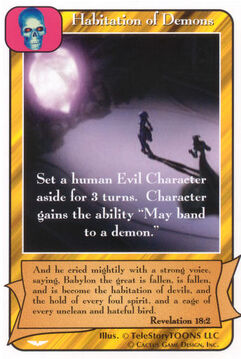Habitation of Demons - Angel Wars