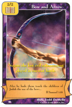 Bow and Arrow (Gold) (Ki)
