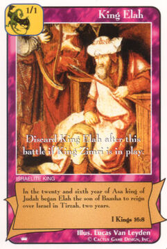 King Elah - Kings