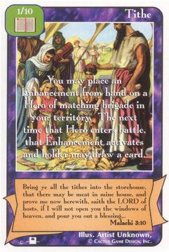 Tithe (Pi) - Priests