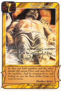 Burial Shroud - Apostles