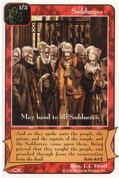 Sadduccees (7) - Apostles