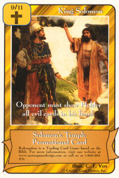 King Solomon - Promotional