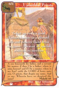 Unfaithful Priests (Pi)