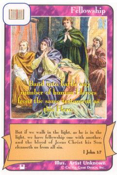 Fellowship (Pi) - Priests